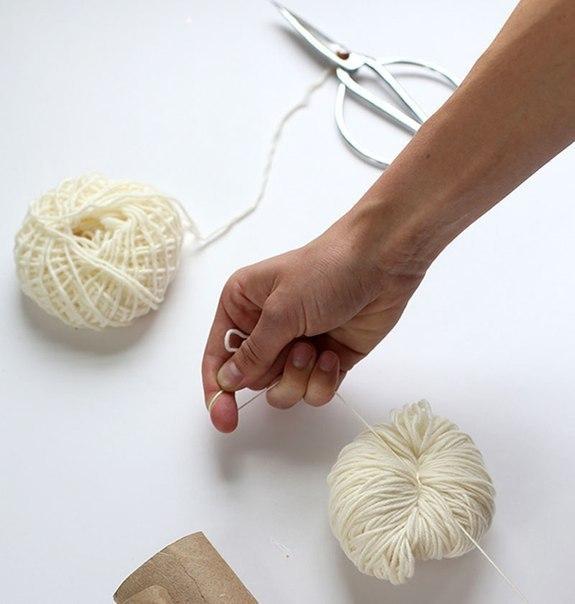 Как сделать шерстяные нитки своими руками 18